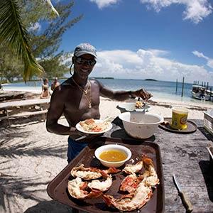 Manjack Cay in Abaco, Bahamas