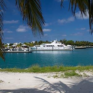 Chub Cay on the Berry Islands, Bahamas