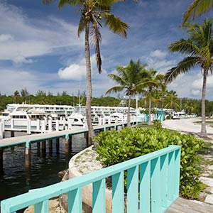 Harbour Cay on the Berry Islands, Bahamas