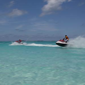 Watersports in the Berry Islands, Bahamas