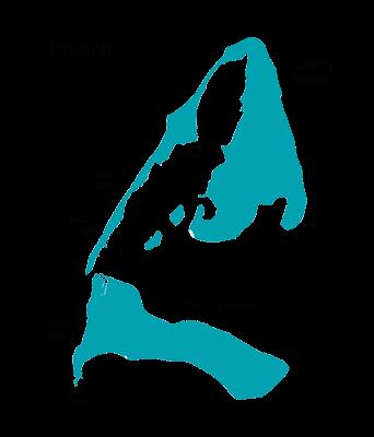 Map of Bimini, Bahamas