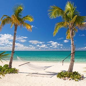 Beach on Eleuthera, Bahamas