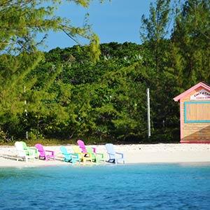 Beach in the Exumas, Bahamas