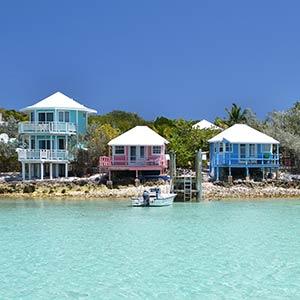 Staniel Cay in the Exumas, Bahamas