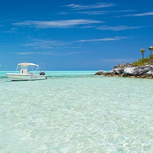 Exploring the coast of Long Island, Bahamas