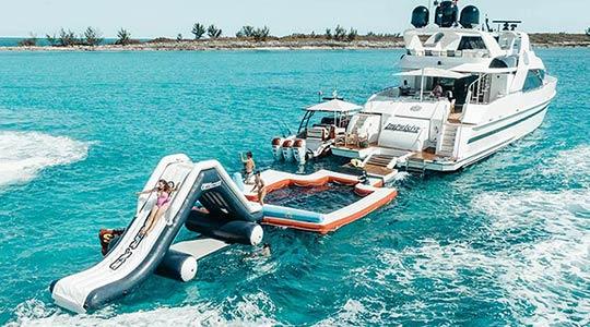 Charter Yacht Impulsive Family Toys