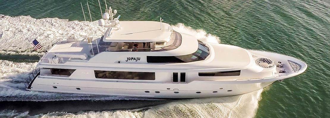 Charter Yacht Jopaju