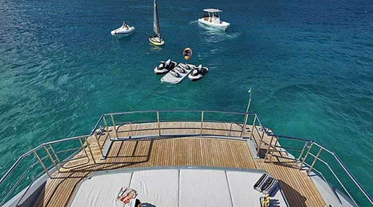 Charter Yacht Andiamo Toys