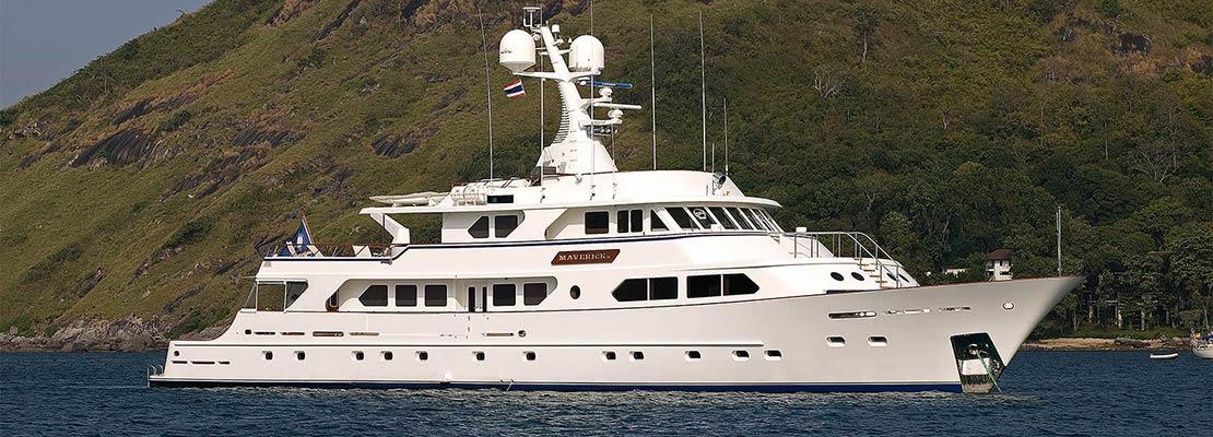 Charter Yacht Maverick