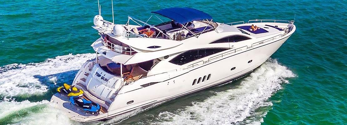 Charter Yacht Top Gun