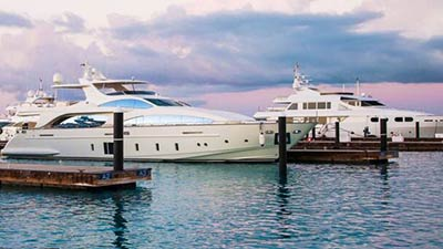 Yachts availble for charter