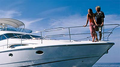 Charter yacht toys and activities